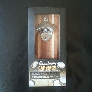 NWT Bruntmor CAPMAGS Magnetic beer opener